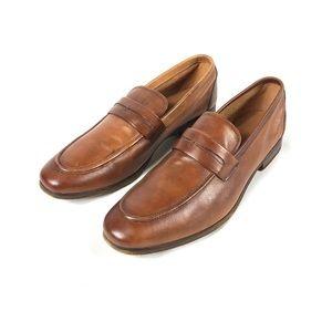 Aldo Wiraswen Leather Penny Loafer Sz 10.5